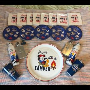Huge set of Disney Mickey Mouse camping stuff